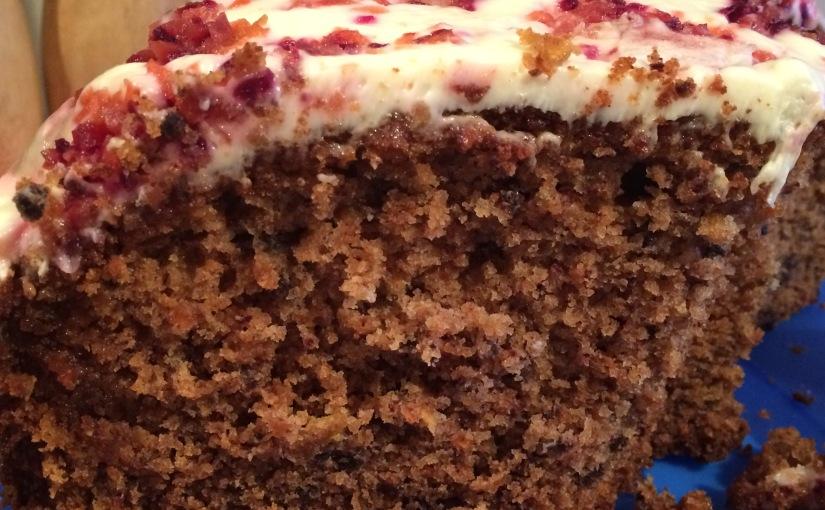 Glutenfreier Mejren-Kugel – ein Möhrenkuchen mitMöhren-Karamel