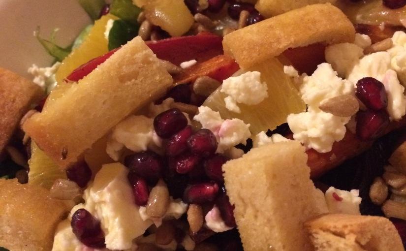 Entensauna – VegetarischerWintersalat